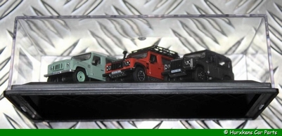 LAND ROVER DEFENDER HERITAGE SET 1:76  PER SET
